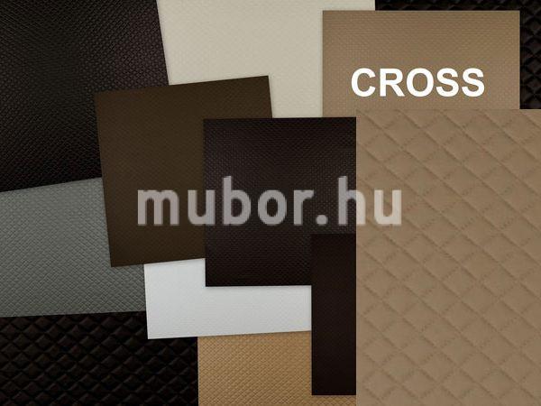 Cross - káró mintás műbőr