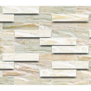 Bleached Oak PVC falpanel