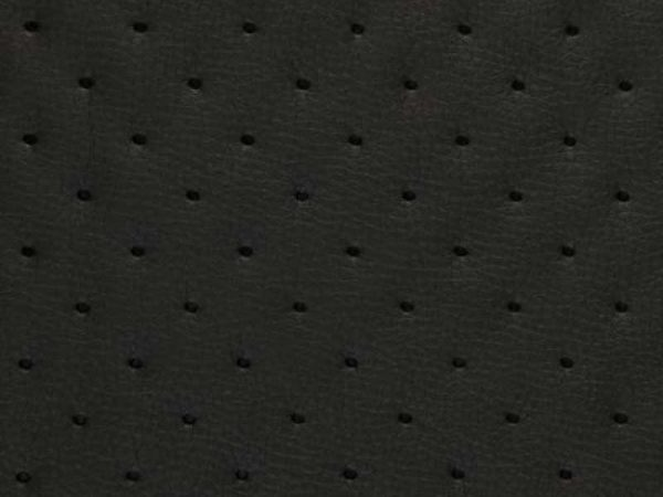 4PIK2 fekete lyukacsos perforált műbőr