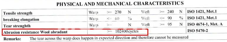 auckland műbőr martindale szám kopásállóság