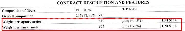 auckland műbőr súly