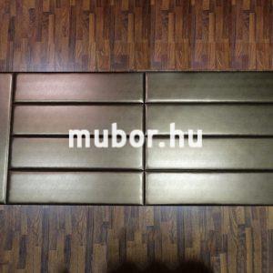 Műbőr falpanel bronz falvédő 300cm x 120cm