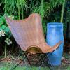 caiman homok színű műbőr szék