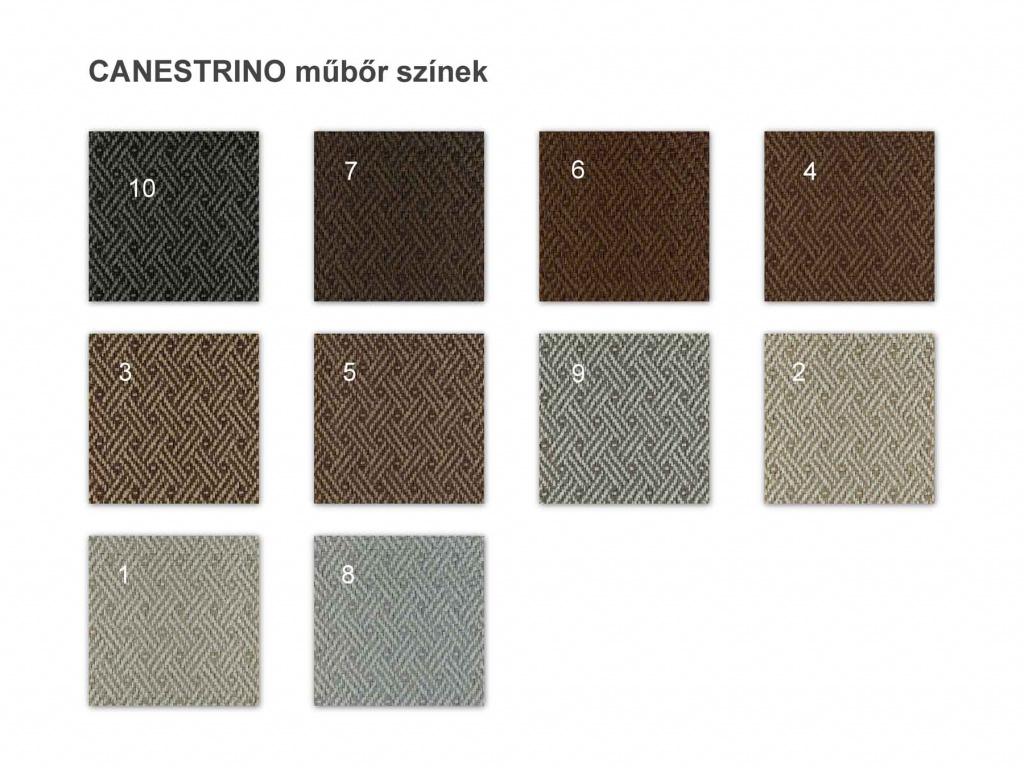 canestrino műbőr színek
