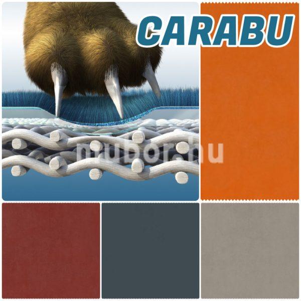 Carabu textilbőr, Carabu műbőr