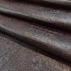 Croco műbőr barna hullámos2