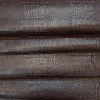 Croco műbőr barna egyenes hullámos