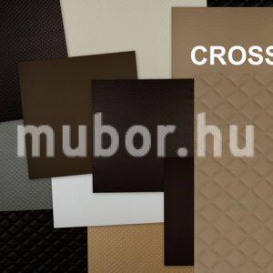 Cross műbőr - káró mintás műbőr krossz