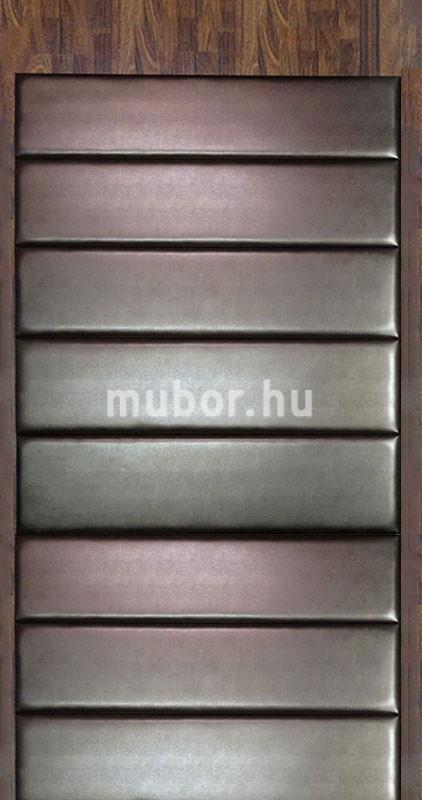Műbőr falpanel bronz előszobafal