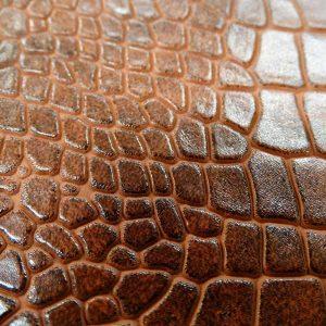 Krokodil mintás