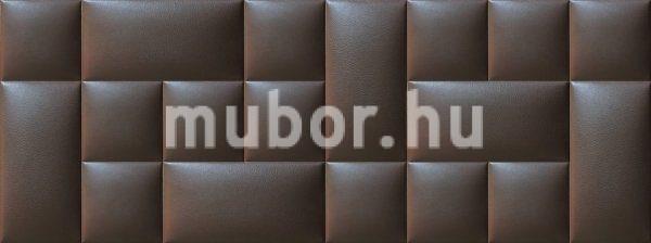 Műbőr falpanel barna falvédő