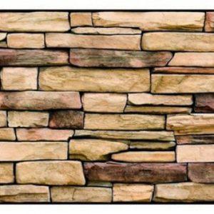 Natural stone slate panel