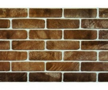 Old Brick Brown PVC falpanel