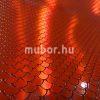 Ariel red hologramos műbőr2