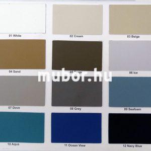 riviera kültéri műbőrkárpit minden szín