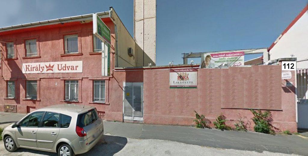 ROKA Lakástextil üzlet külső látkép