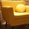 starlite-mubor-szék - sárga